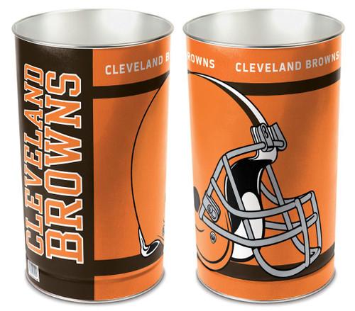 """Cleveland Browns 15"""" Waste Basket"""