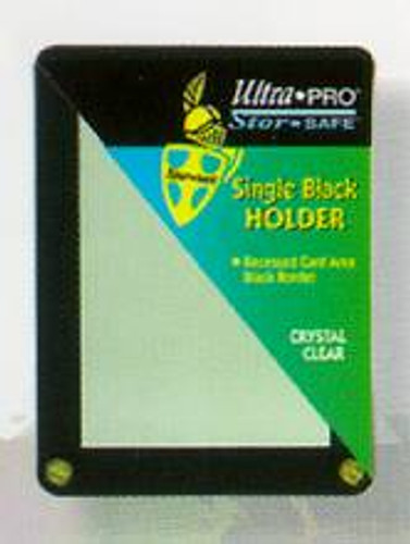 Single Black Holder
