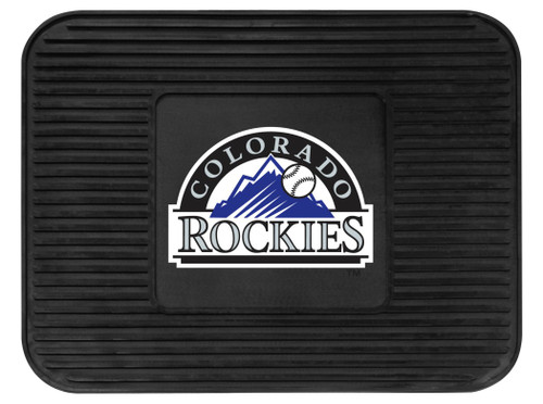 Colorado Rockies Car Mat Heavy Duty Vinyl Rear Seat