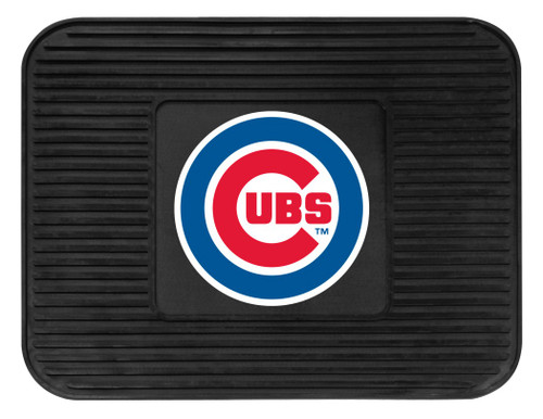 Chicago Cubs Car Mat Heavy Duty Vinyl Rear Seat