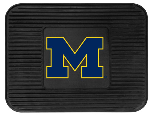 Michigan Wolverines Car Mat Heavy Duty Vinyl Rear Seat