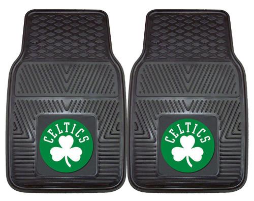 Boston Celtics Heavy Duty 2-Piece Vinyl Car Mats