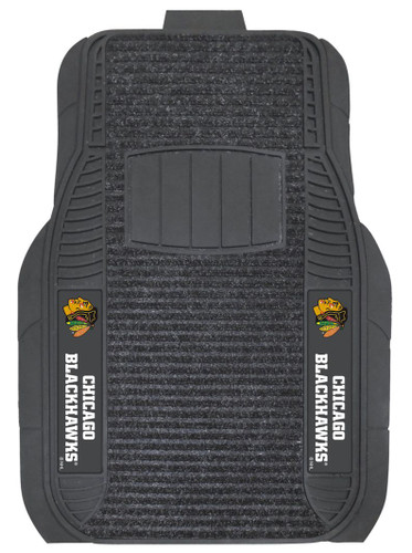 Chicago Blackhawks Car Mats - Deluxe Set