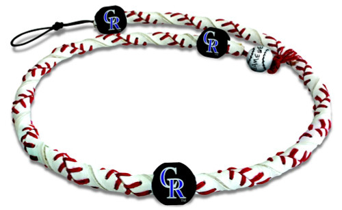 Colorado Rockies Frozen Rope Necklace