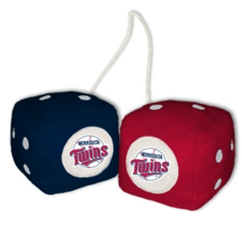 Minnesota Twins Fuzzy Dice