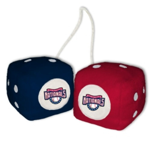 Washington Nationals Fuzzy Dice