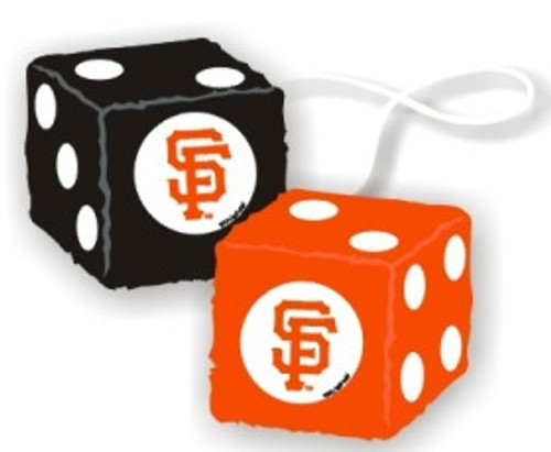 San Francisco Giants Fuzzy Dice