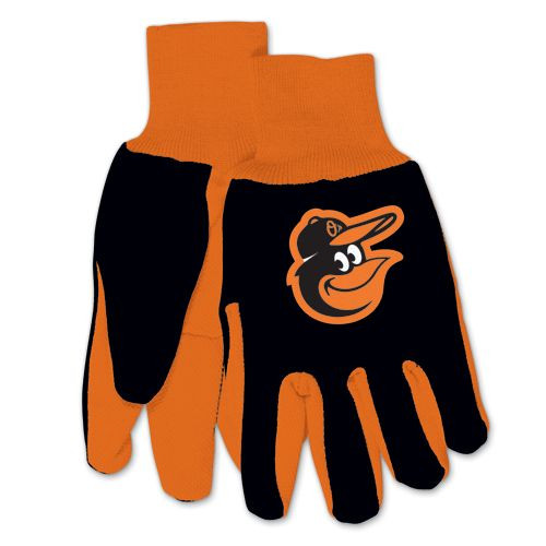 Baltimore Orioles Two Tone Gloves - Adult Size