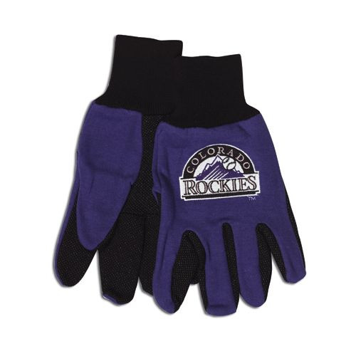 Colorado Rockies Two Tone Gloves - Adult Size