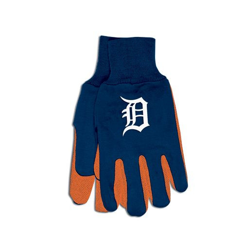 Detroit Tigers Two Tone Gloves - Adult Size