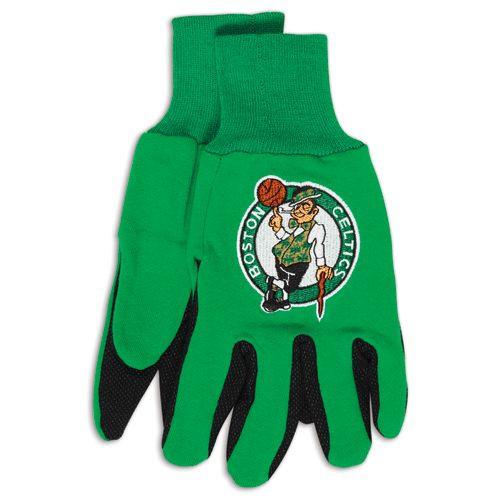 Boston Celtics Two Tone Gloves - Adult