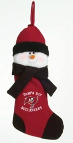 "Tampa Bay Buccaneers 22"" Snowman Stocking"