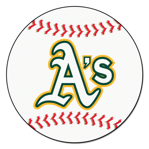 Oakland Athletics Baseball Mat 29 inch