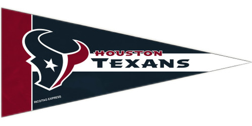 Houston Texans Pennant Set Mini 8 Piece