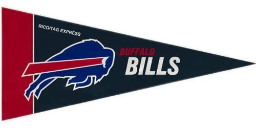 Buffalo Bills Mini Pennants - 8 Piece Set