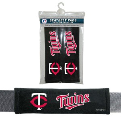 Minnesota Twins Seat Belt Pads Velour