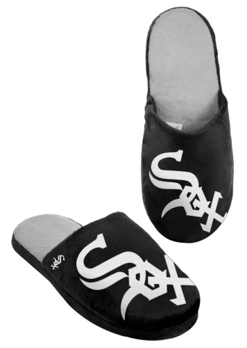 Chicago White Sox Slippers - Mens Big Logo