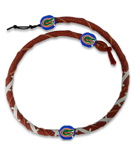 Florida Gators Spiral Football Necklace
