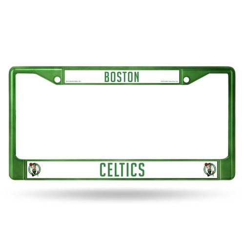 Boston Celtics License Plate Frame Metal Green
