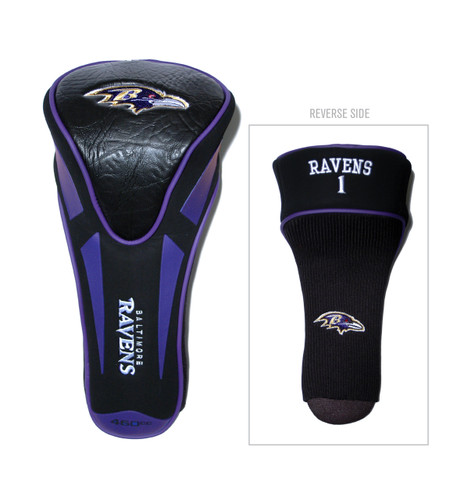 Baltimore Ravens Golf Headcover - Single Apex Jumbo