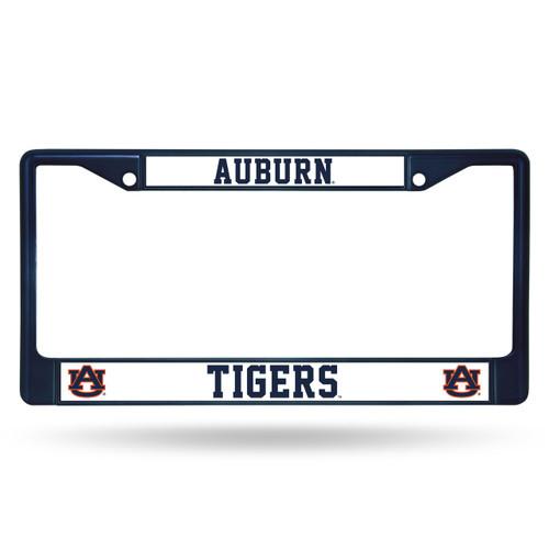 Auburn Tigers Metal License Plate Frame - Navy