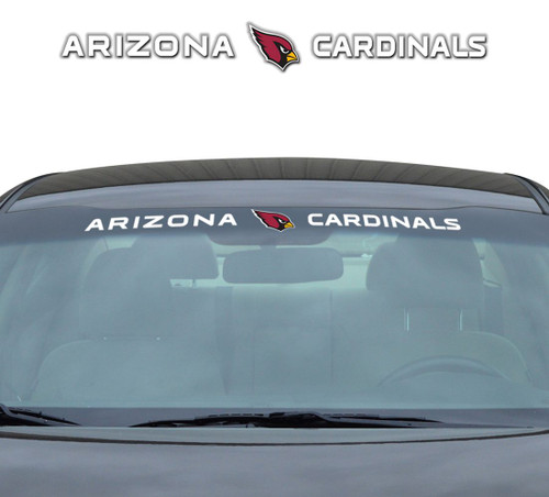 Arizona Cardinals Decal 35x4 Windshield