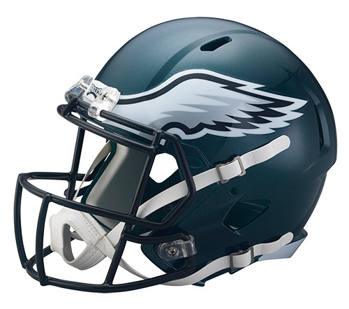 Philadelphia Eagles Deluxe Replica Speed Helmet
