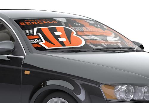 "Cincinnati Bengals Auto Sun Shade - 59""x27"""