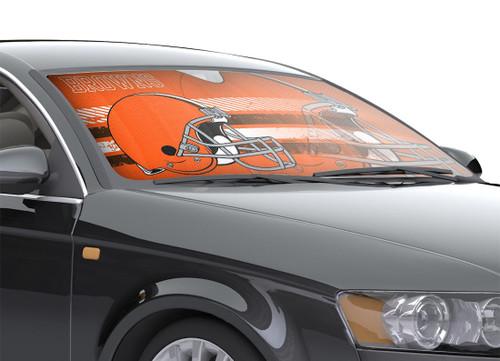 "Cleveland Browns Auto Sun Shade - 59""x27"""