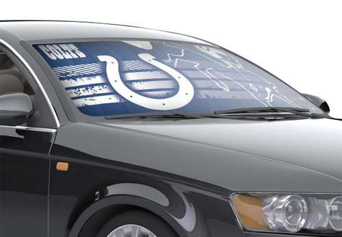 "Indianapolis Colts Auto Sun Shade - 59""x27"""