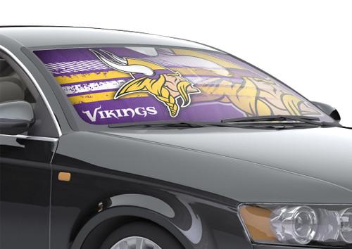 "Minnesota Vikings Auto Sun Shade - 59""x27"""