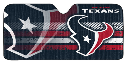 "Houston Texans Auto Sun Shade - 59""x27"""