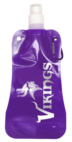 Minnesota Vikings 16 ounce Foldable Water Bottle
