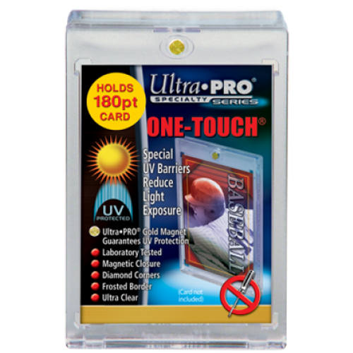 One Touch UV Card Holder with Magnet - 180pt