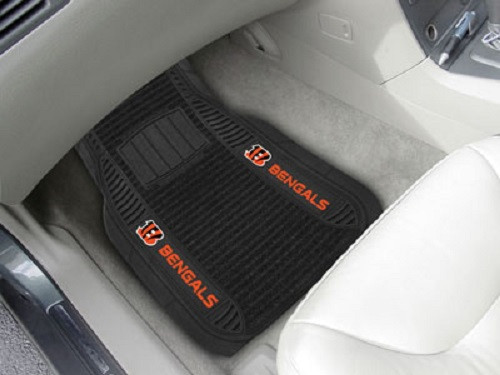 Cincinnati Bengals Car Mats Deluxe Set