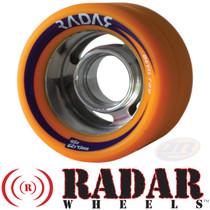 RADAR WHEELS (4) DEVIL RAY ORANGE 62mm