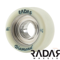RADAR WHEELS (4) - DIAMOND - NATURAL - 62mm/94a