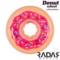 RADAR WHEELS (4) - DONUT - PINK 62mm/78a