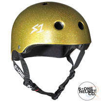 S1 Lifer Helmets - Gold Gloss Glitter