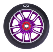 Crisp F1 Forged Wheel - 110mm - Black on Purple