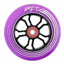 Grit Ultralight Spoked V2 Wheel - 110mm - Purple on Black