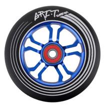 Grit Ultralight Spoked V2 Wheel - 110mm - Black on Blue