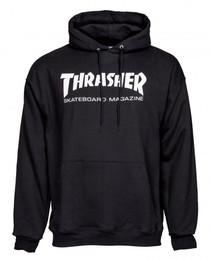 Thrasher Logo Hoodie -Black
