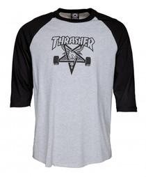 Thrasher Raglan T Shirt SK8 Goat