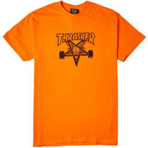 Thrasher T Shirt Skategoat Logo - Orange