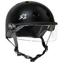S1 Lifer Helmets inc Visor - Black Matt