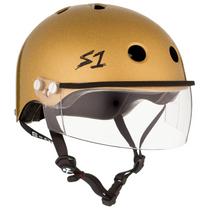 S1 Lifer Helmets inc Visor- Gold Glitter