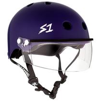 S1 Lifer Helmets inc Visor- Purple Matt