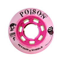 Atom Quad Derby Poison Slim Wheels - Pink