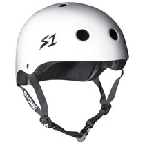 S1 MEGA Lifer Helmets - White Gloss